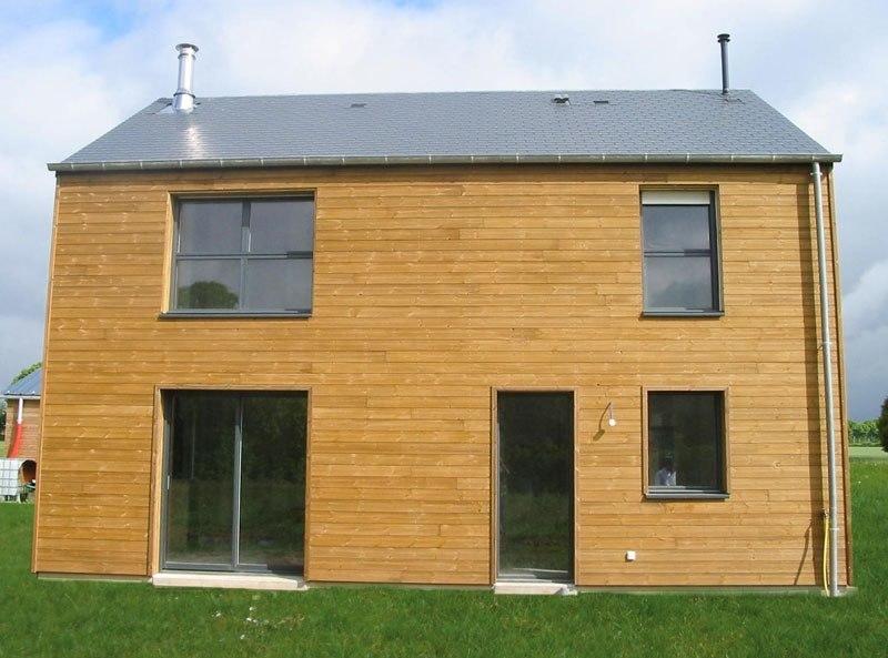Maison bois à le Chatellier