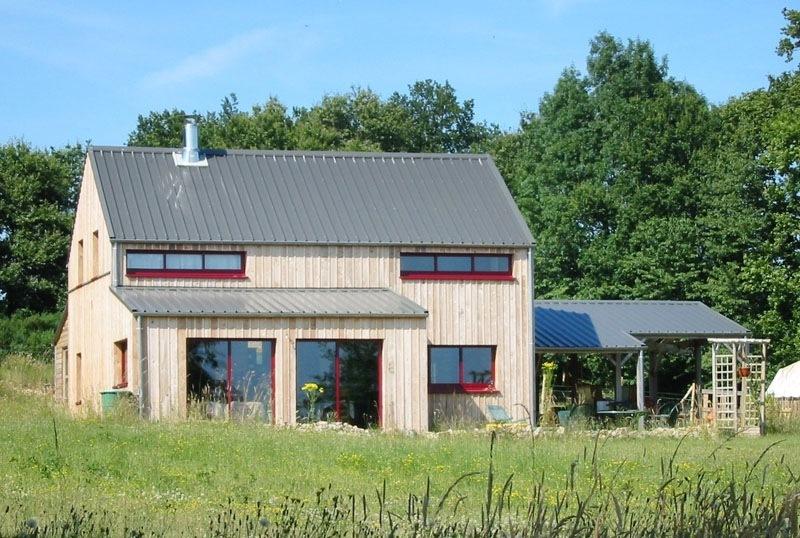 Maison bois à Guichen