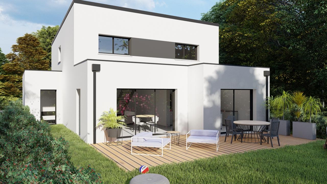 Terrain + Maison 145 m² Bédée - Photo 1
