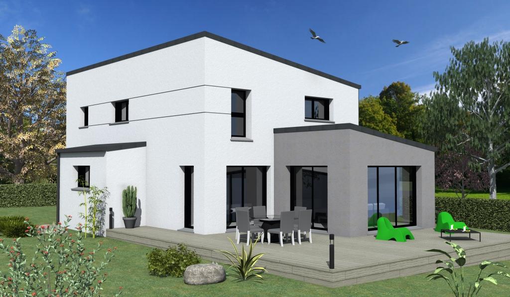 Terrain maison 133 m saint malo maisons cr ation - La maison generale st malo ...