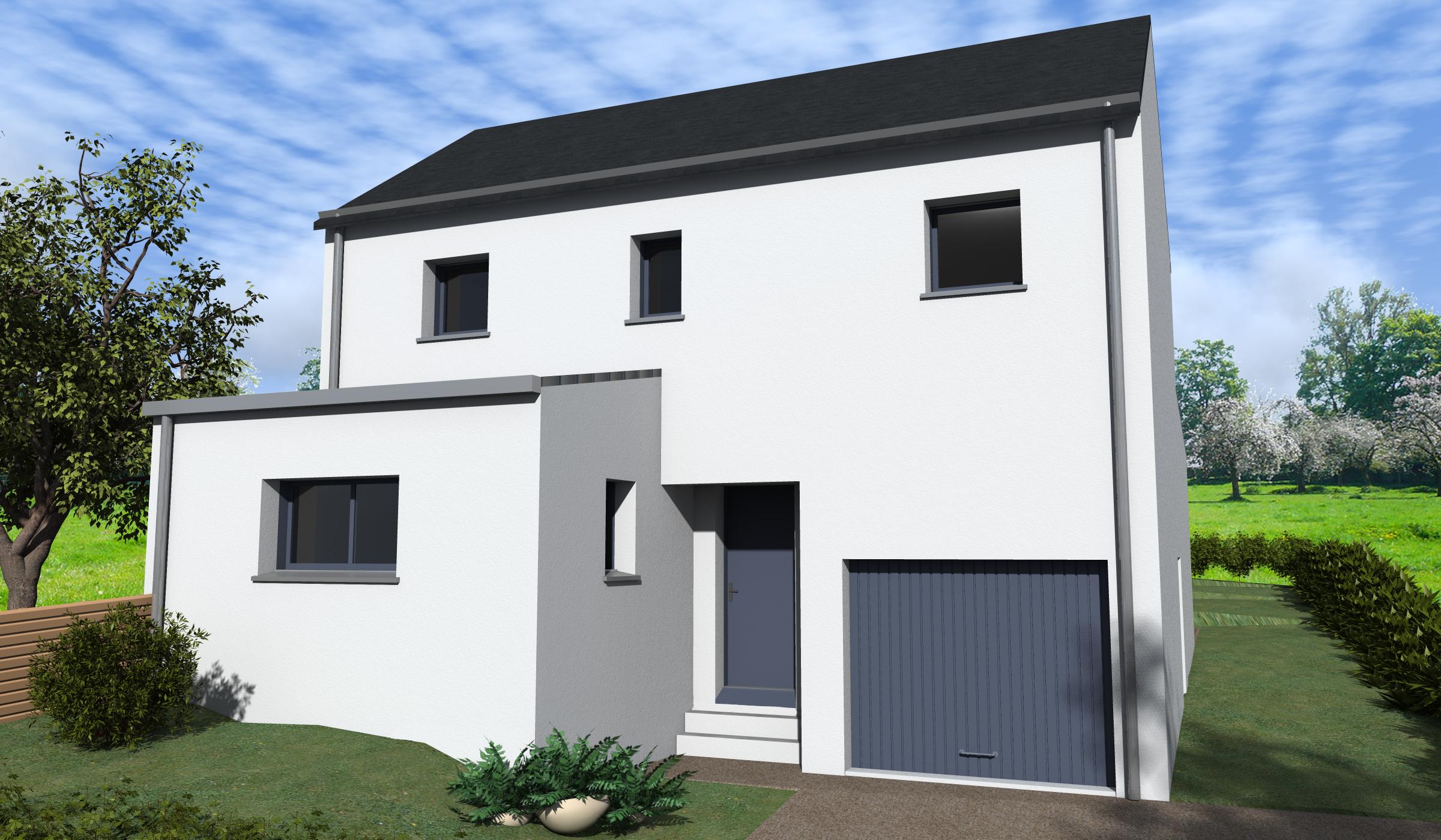Terrain + Maison 110m² La Fresnais  - Photo 1