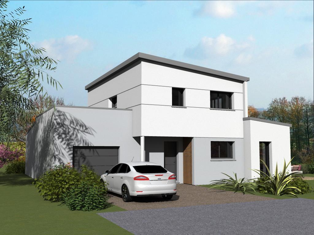 Terrain + Maison de 125m² La Chapelle des Fougeretz - Photo 1