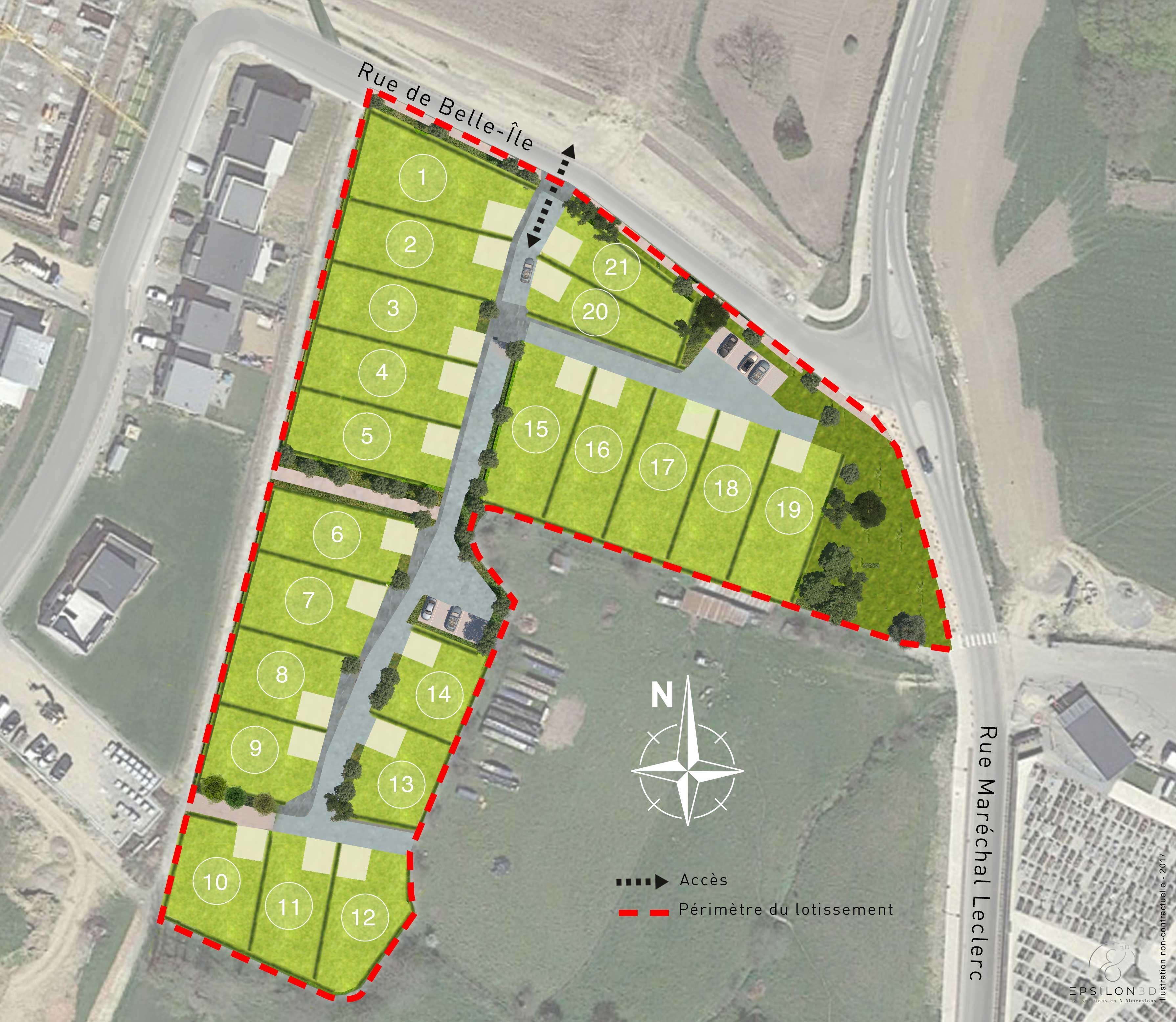 Terrain 250 m² Servon-sur-Vilaine - Photo 1
