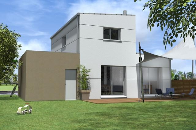 terrain maison 98 m servon sur vilaine maisons cr ation. Black Bedroom Furniture Sets. Home Design Ideas