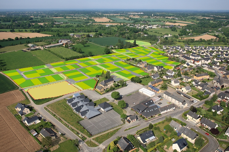 Terrain 433 m² Vignoc  - Photo 1