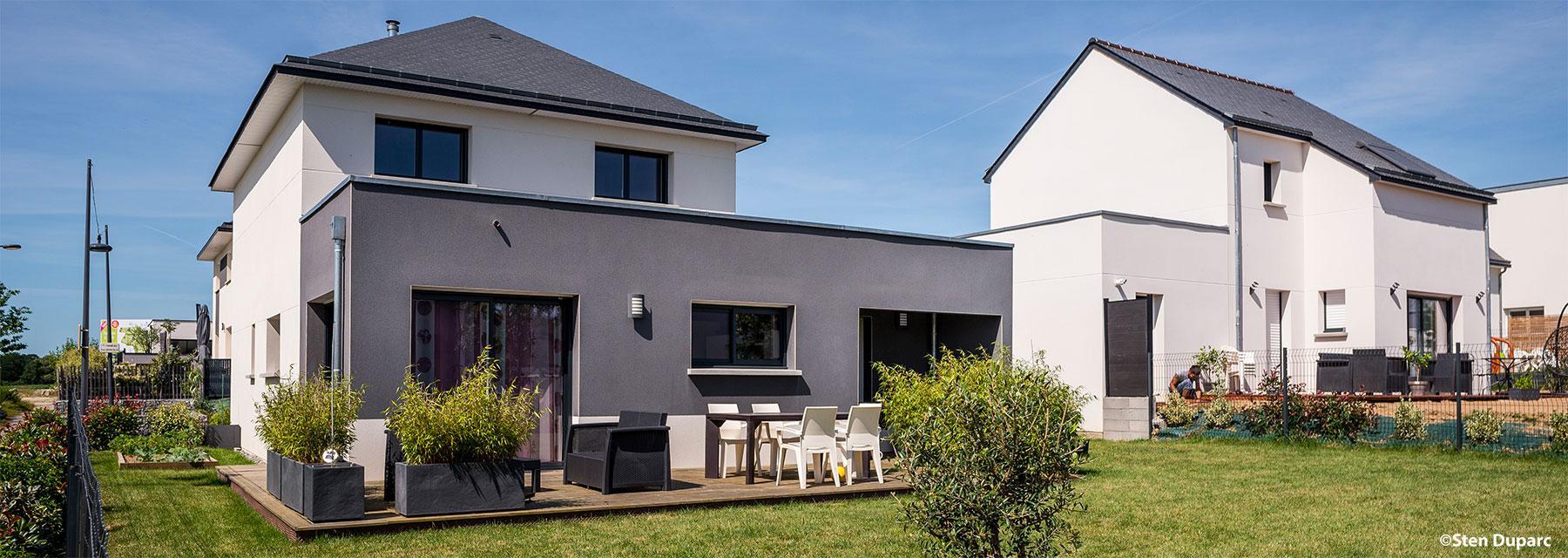 Maisons cr ation constructeur de maisons individuelles for Constructeur de maisons individuelles caen