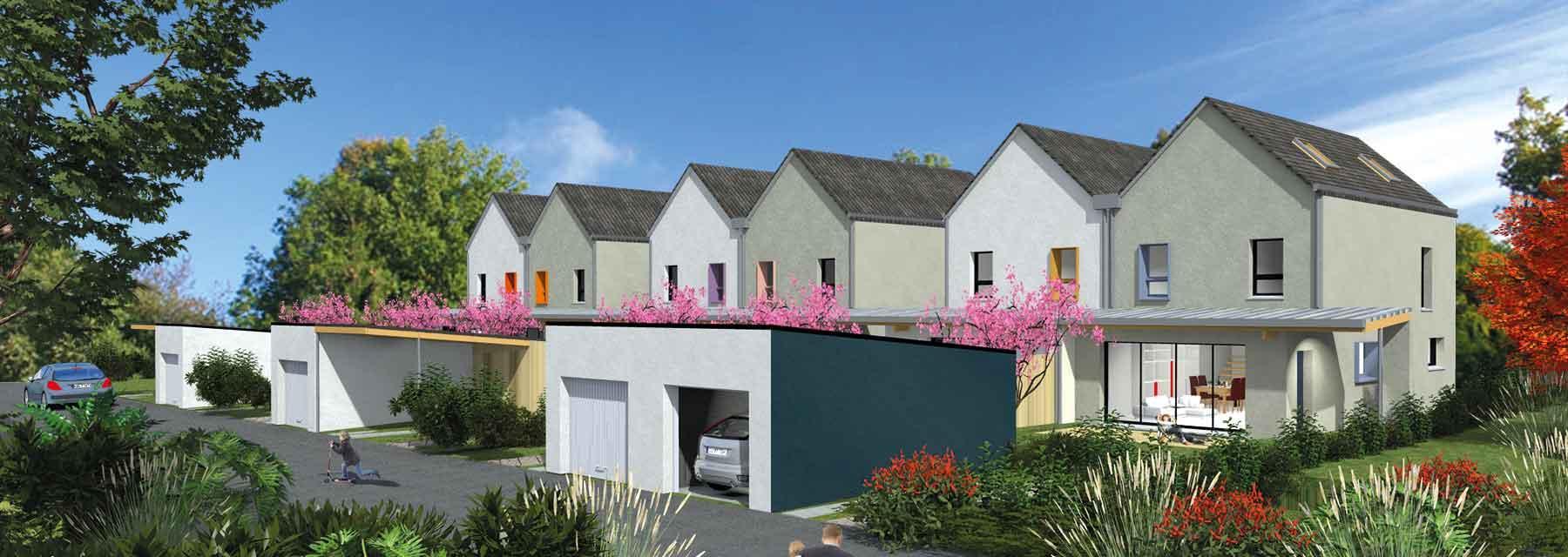 Villas de la Lande à Nouvoitou (35) - Maisons Création - Acheter 1ère couronne de Rennes