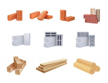Matériaux construction maison