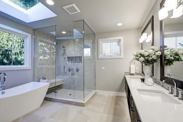 Salle de bain luxueuse