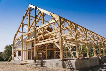 Isolation d'une maison à ossature en bois
