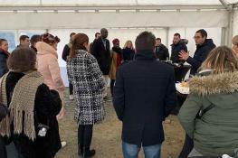 Inauguration des Villas Méliès à Acigné - Maisons Création