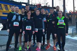 InTrail Muros de Saint-Malo 2019 : les coureurs de Maisons Création termine 3ème sur le podium !