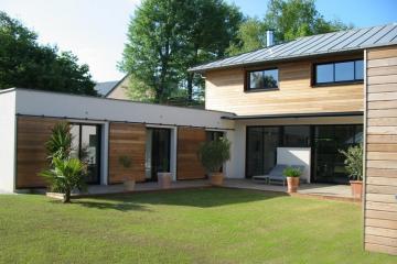 Maison contemporaine à Betton