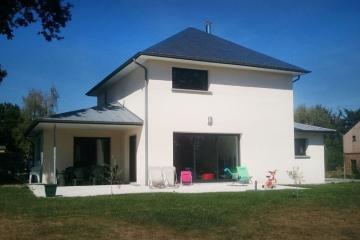 Maison contemporaine à Talensac