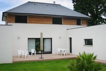 Maison contemporaine à Montfort-sur-Meu