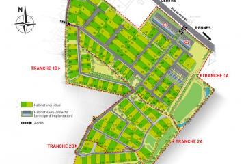 Terrain à bâtir à Bédée (Ille et Vilaine)
