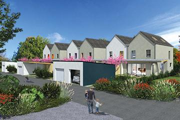 Les Villas de la Lande à Nouvoitou - Maisons Création - maison et jardin à moins de 200 000 euros