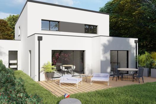 Terrain + Maison 145 m² Bédée - Photo