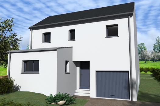 Terrain + Maison 110m² La Fresnais  - Photo