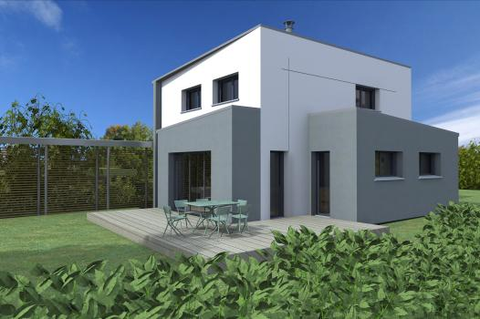 TERRAIN + MAISON 100M² - GOVEN - Photo