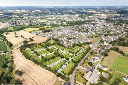 Terrain 382 m² Montfort-sur-Meu  - Photo