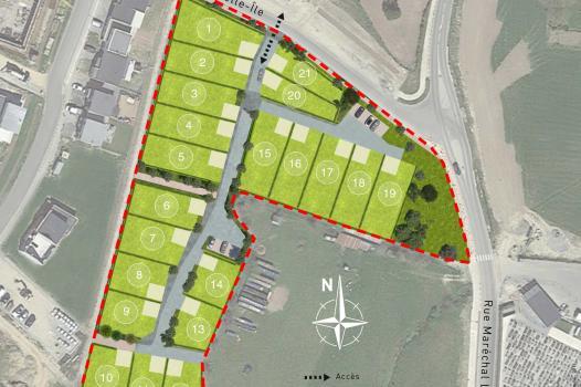 Terrain 252 m² Servon-sur-Vilaine - Photo