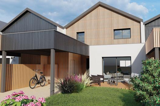 MAISON + JARDIN 99 m² - Les Maisons du Hameau LAILLÉ - Photo