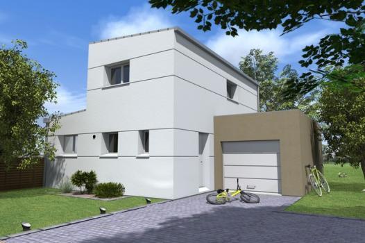 Terrain + Maison 98 m² Servon-sur-Vilaine - Photo