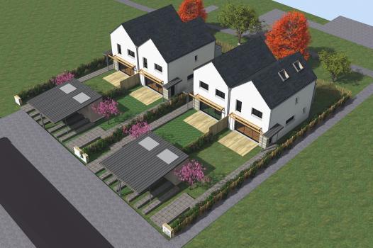 Terrain + Maison 97m² Noyal-Châtillon-Sur-Seiche - Photo