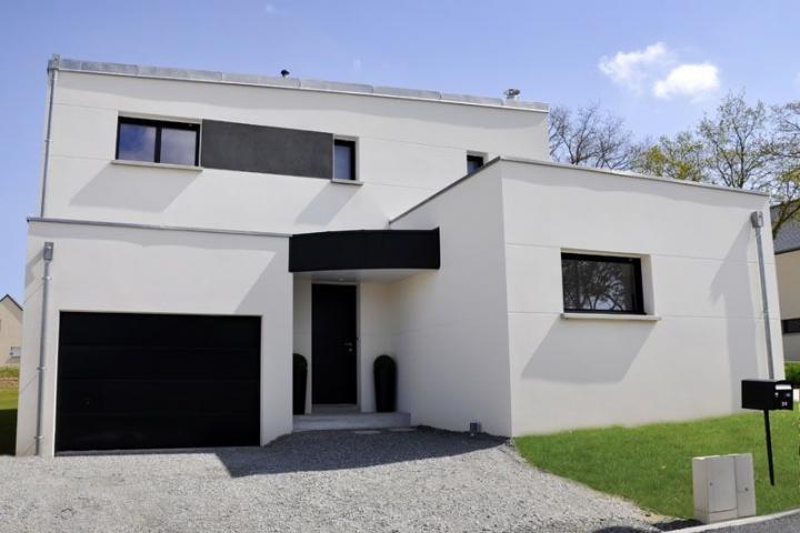Maison contemporaine à Domloup